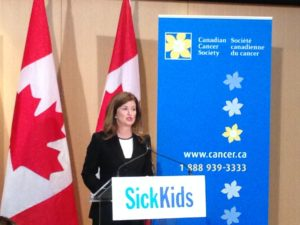 The Honourable Rona Ambrose – Federal Minister of Health