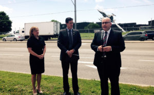 Hon. Steven Del Duca - Minister of Transportation announces changes to make it Easier for Military Personnel to Obtain Driver's Licences