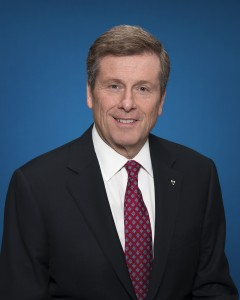 Mayor John Tory