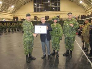 Burke commendation photo