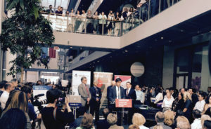 Dr. Eric Hoskins – Minister of Health and Long-Term Care announcing funding for health innovation