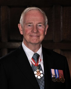 His Excellency the Right Honourable David Johnston, C.C., C.M.M., C.O.M., C.D., Governor General and Commander-in-Chief of Canada Photo credit: Sgt Serge Gouin, Rideau Hall © Her Majesty The Queen in Right of Canada represented by the Office of the Secretary to the Governor General (2010)