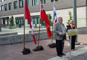 Hon. Ted McMeekin - Minister of Municipal Affairs and Housing - Announcing new affordable housing in Toronto